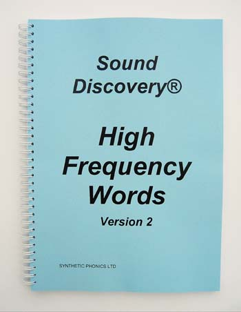 Sound Discovery High Frequency Words Version 2